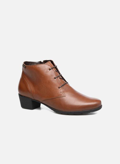 Bottines et boots Mephisto Isabella Marron vue détail/paire