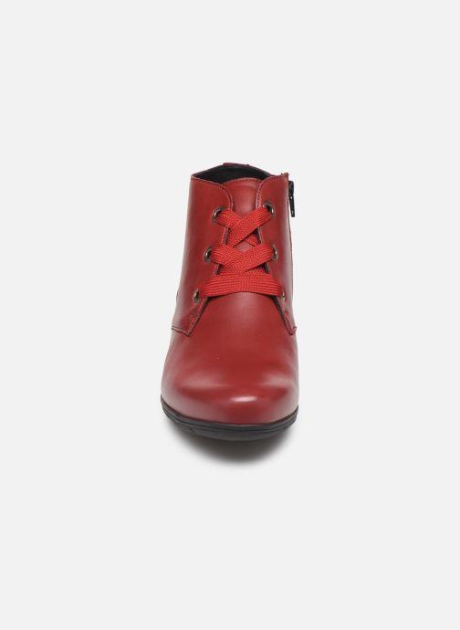 Bottines et boots Mephisto Isabella Bordeaux vue portées chaussures