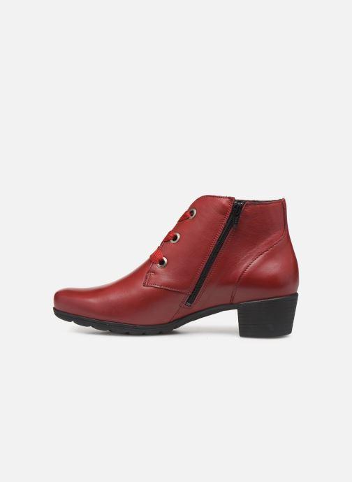 Bottines et boots Mephisto Isabella Bordeaux vue face