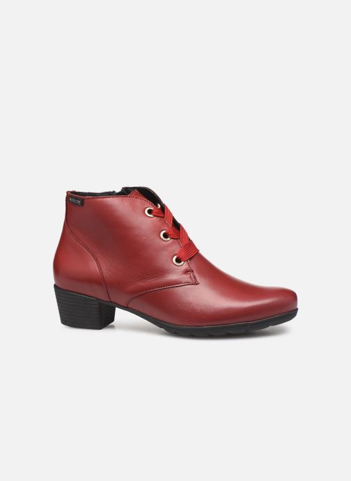 Ankle boots Mephisto Isabella Burgundy back view