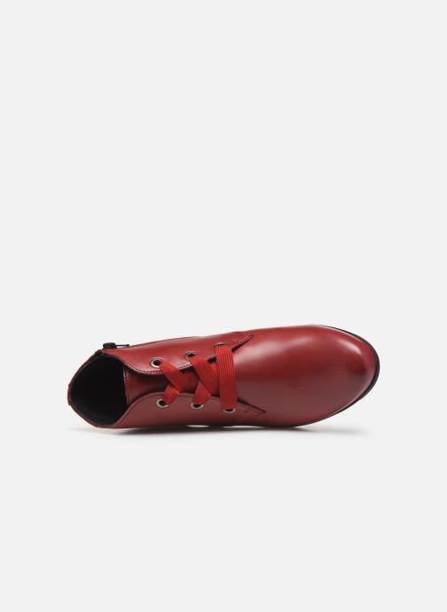 Bottines et boots Mephisto Isabella Bordeaux vue gauche