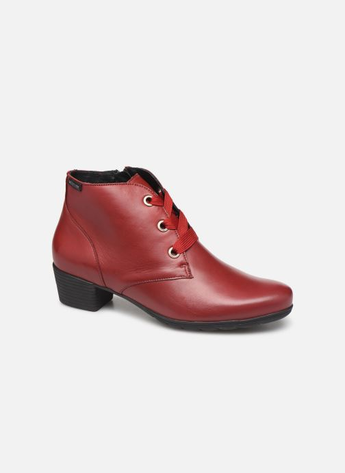 Ankle boots Mephisto Isabella Burgundy detailed view/ Pair view