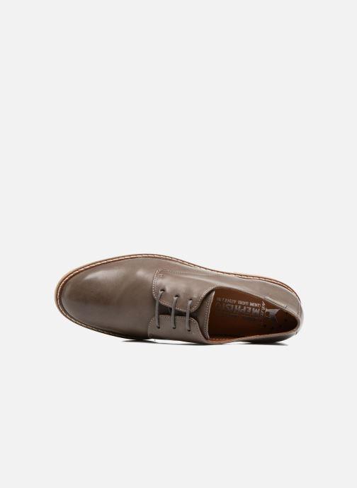 Zapatos con cordones Mephisto Fany Marrón vista lateral izquierda