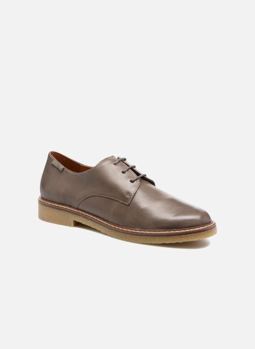 Chaussures à lacets Mephisto Fany Marron vue détail/paire