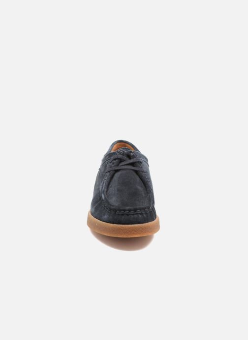 Chaussures à lacets Mephisto Christy Bleu vue portées chaussures