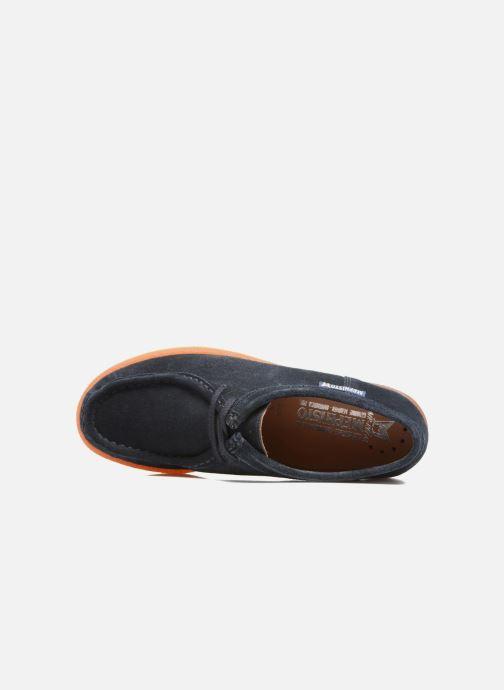 Chaussures à lacets Mephisto Christy Bleu vue gauche