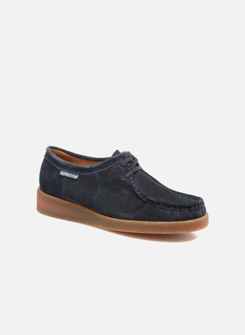Chaussures à lacets Mephisto Christy Bleu vue détail/paire