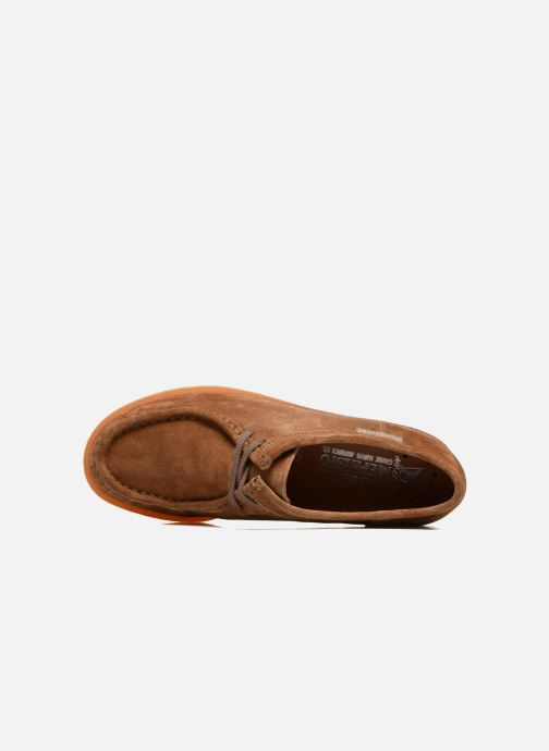 Lace-up shoes Mephisto Christy Brown view from the left