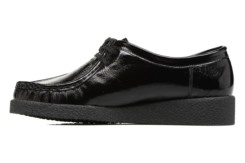 Chaussures à lacets Mephisto Christy Noir vue face