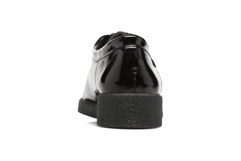 Chaussures à lacets Mephisto Christy Noir vue droite