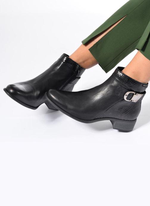 Bottines et boots Mephisto Emeline Marron vue bas / vue portée sac