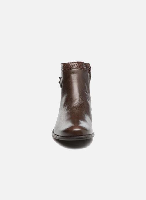 Bottines et boots Mephisto Emeline Marron vue portées chaussures