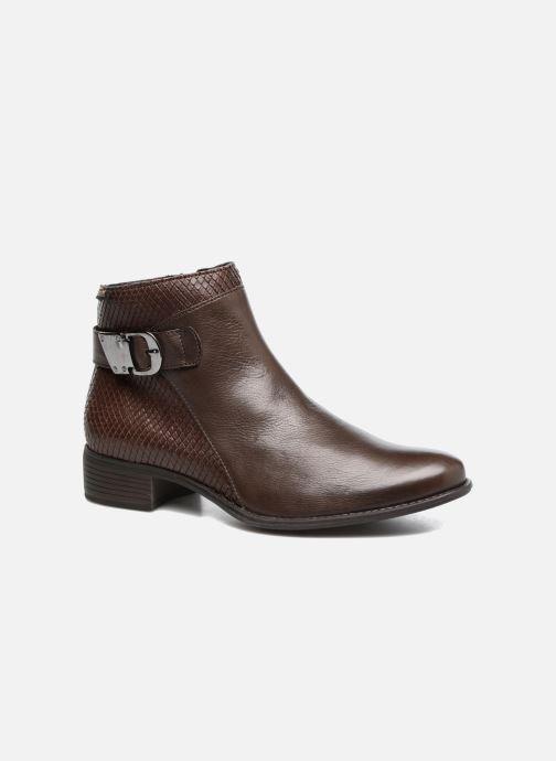 Bottines et boots Mephisto Emeline Marron vue détail/paire