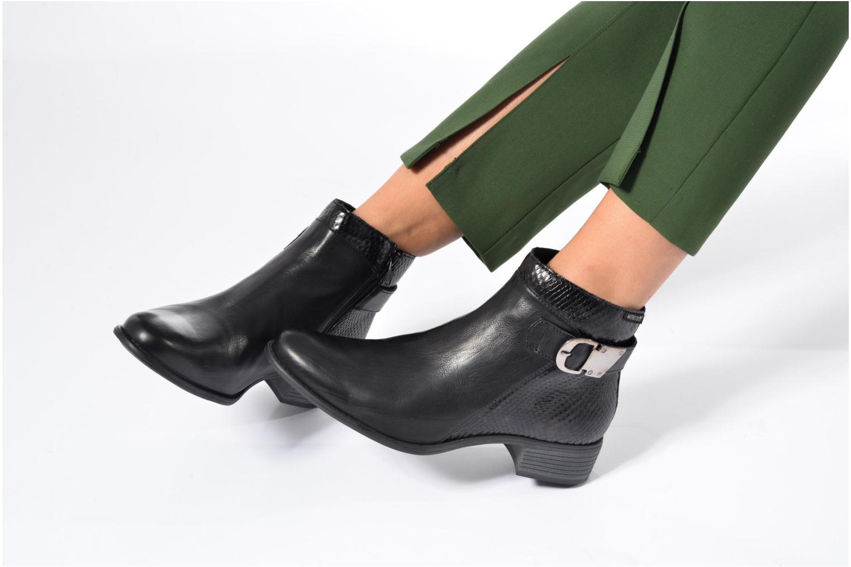 Bottines et boots Mephisto Emeline Noir vue bas / vue portée sac