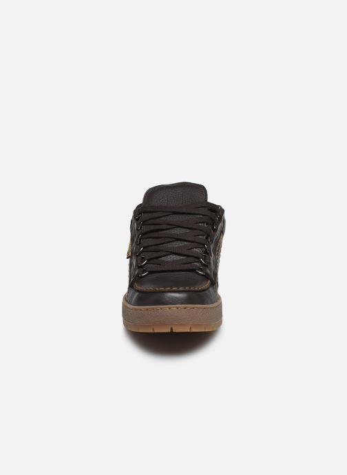 Chaussures à lacets Mephisto Rainbow Marron vue portées chaussures