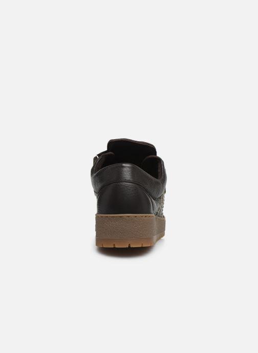 Zapatos con cordones Mephisto Rainbow Marrón vista lateral derecha