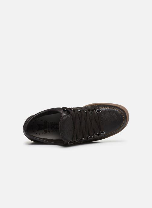 Zapatos con cordones Mephisto Rainbow Marrón vista lateral izquierda