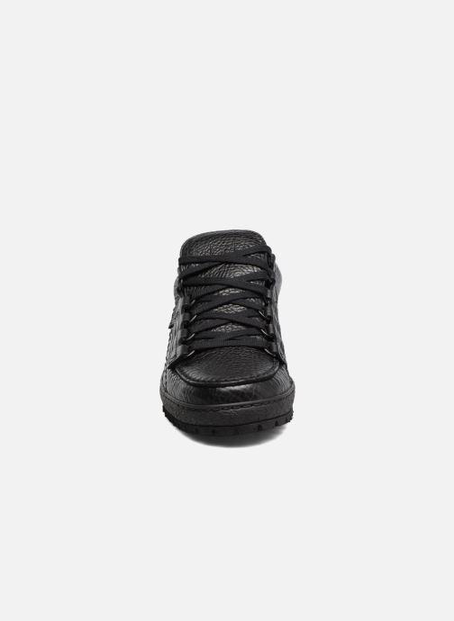 Zapatos con cordones Mephisto Rainbow Negro vista del modelo
