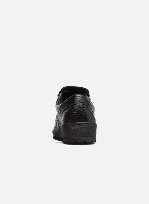 Zapatos con cordones Mephisto Rainbow Negro vista lateral derecha