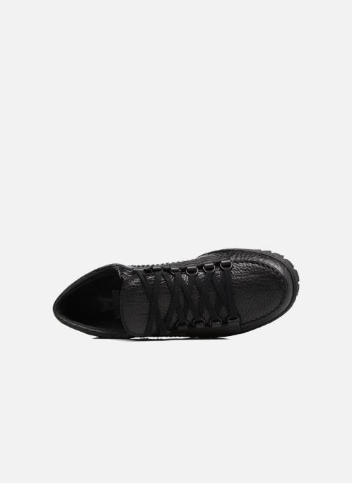 Zapatos con cordones Mephisto Rainbow Negro vista lateral izquierda