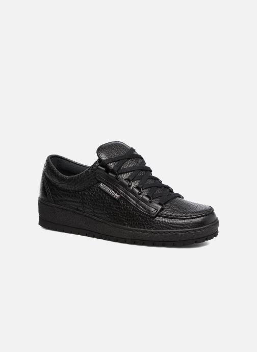 Zapatos con cordones Mephisto Rainbow Negro vista de detalle / par