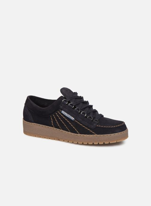 Chaussures à lacets Mephisto Rainbow Bleu vue détail/paire