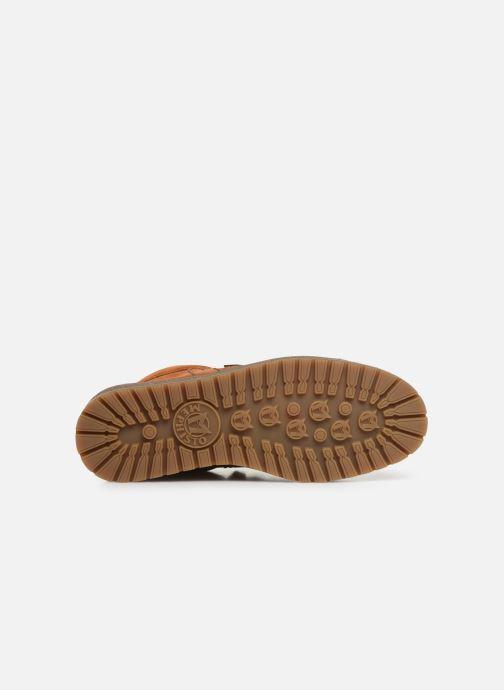 Chaussures à lacets Mephisto Rainbow Marron vue haut