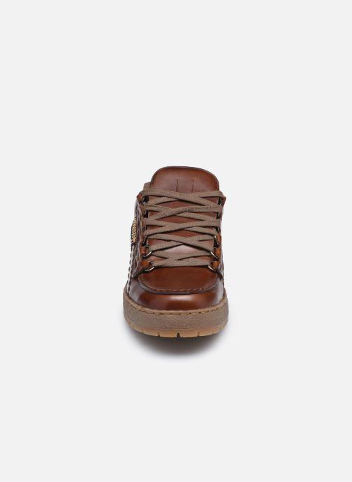 Zapatos con cordones Mephisto Rainbow Marrón vista del modelo