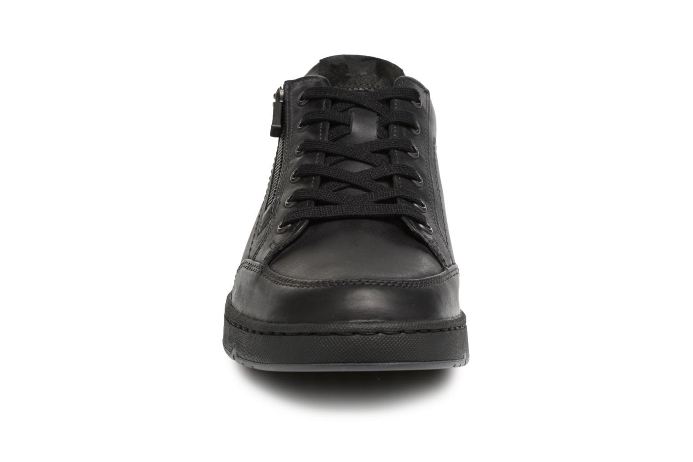 Baskets Mephisto Jeremy Noir vue portées chaussures