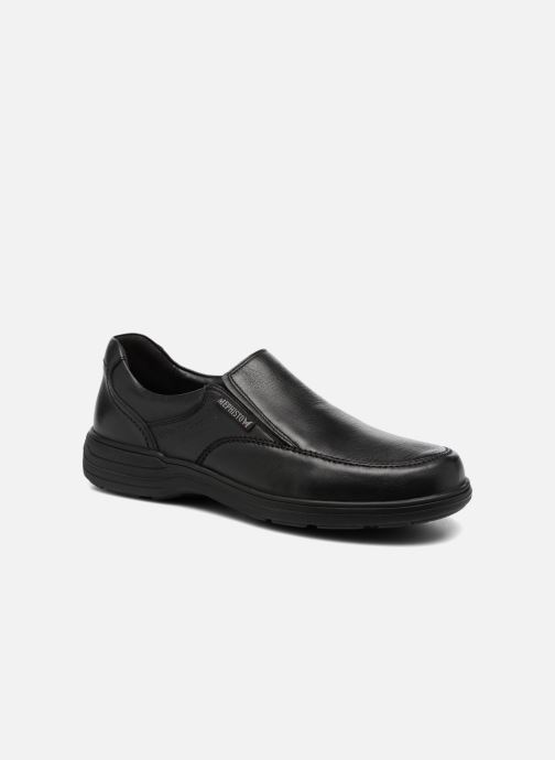 Loafers Mephisto Davy Black detailed view/ Pair view