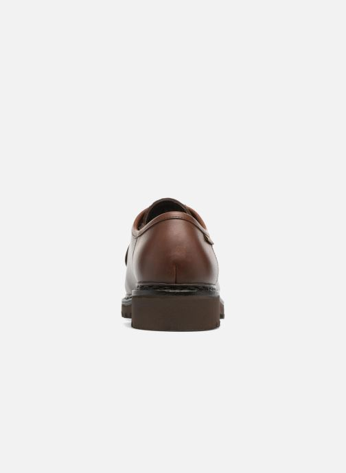 Zapatos con cordones Mephisto Peppo Marrón vista lateral derecha