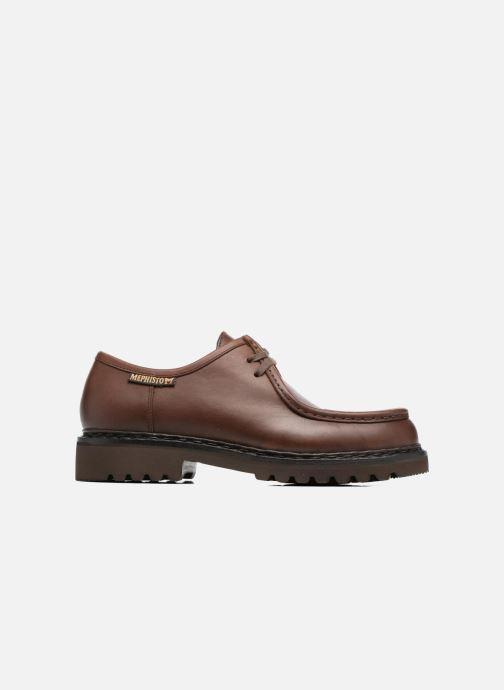 Chaussures à lacets Mephisto Peppo Marron vue derrière