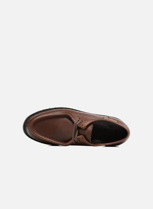 Zapatos con cordones Mephisto Peppo Marrón vista lateral izquierda