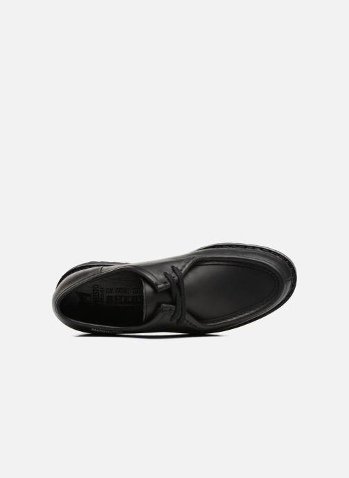 Chaussures à lacets Mephisto Peppo Noir vue gauche