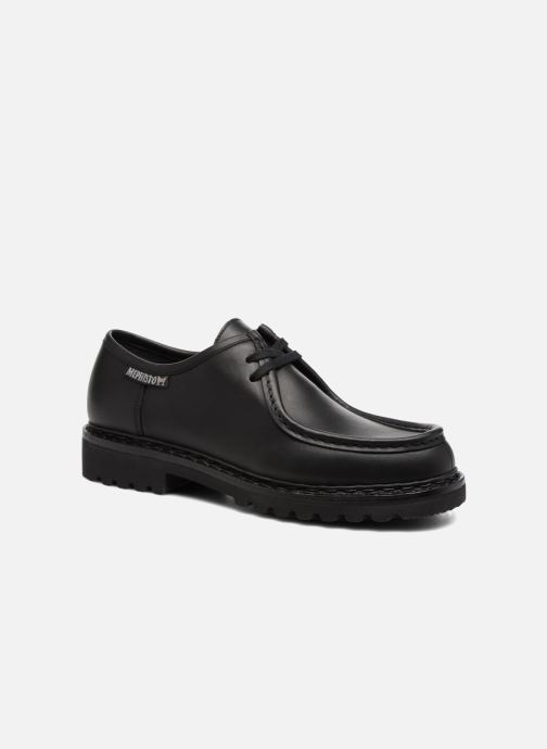 Chaussures à lacets Mephisto Peppo Noir vue détail/paire