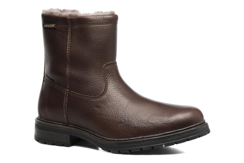 Bottines et boots Mephisto Leonardo Marron vue détail/paire