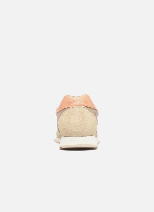 Trainers New Balance WL520 Beige view from the right