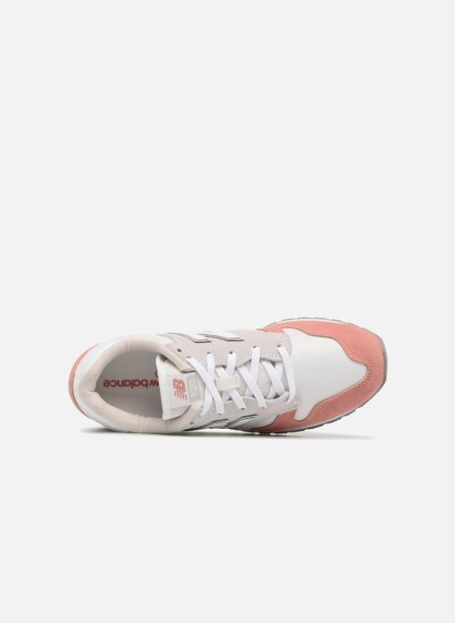 Trainers New Balance WL520 Pink view from the left