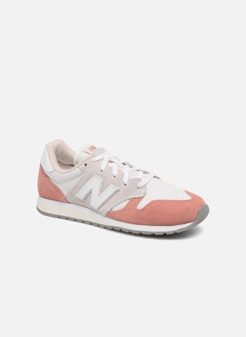 Trainers New Balance WL520 Pink detailed view/ Pair view