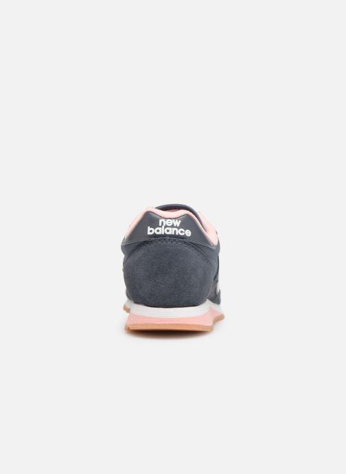 Baskets New Balance WL520 Gris vue droite
