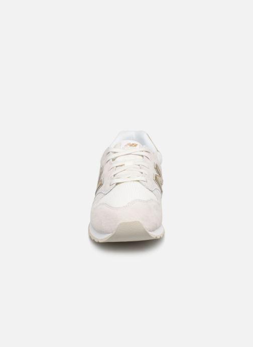 Sneaker New Balance WL520 weiß schuhe getragen