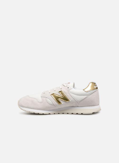 Sneaker New Balance WL520 weiß ansicht von vorne