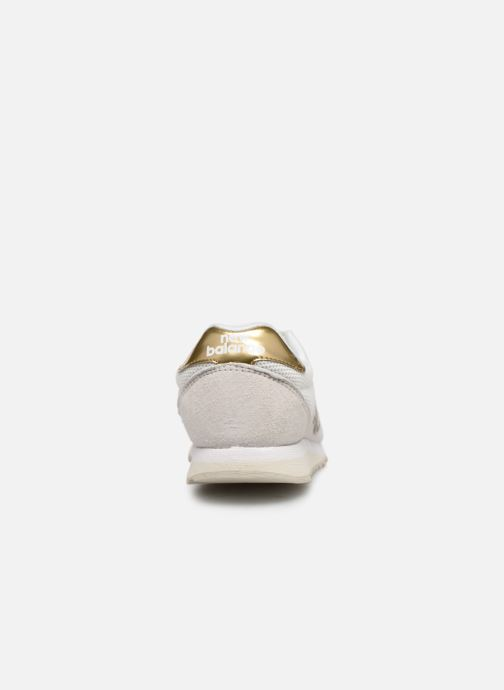 Baskets New Balance WL520 Blanc vue droite