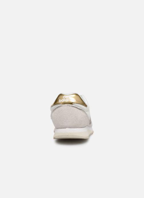 Sneaker New Balance WL520 weiß ansicht von rechts