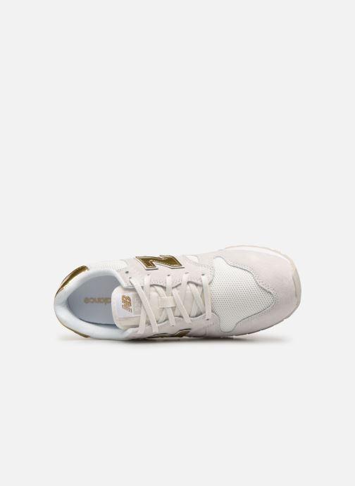 Sneaker New Balance WL520 weiß ansicht von links