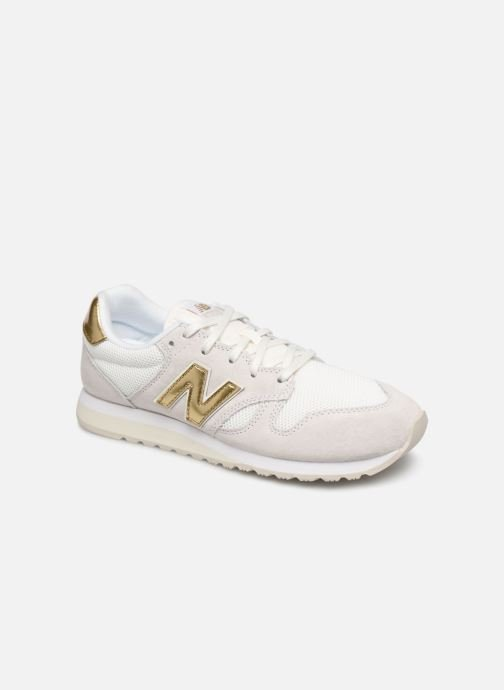 Trainers New Balance WL520 White detailed view/ Pair view