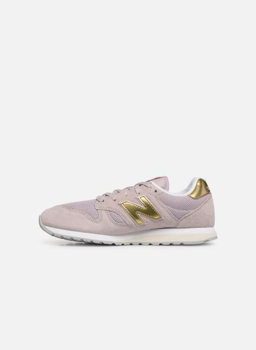 Baskets New Balance WL520 Rose vue face