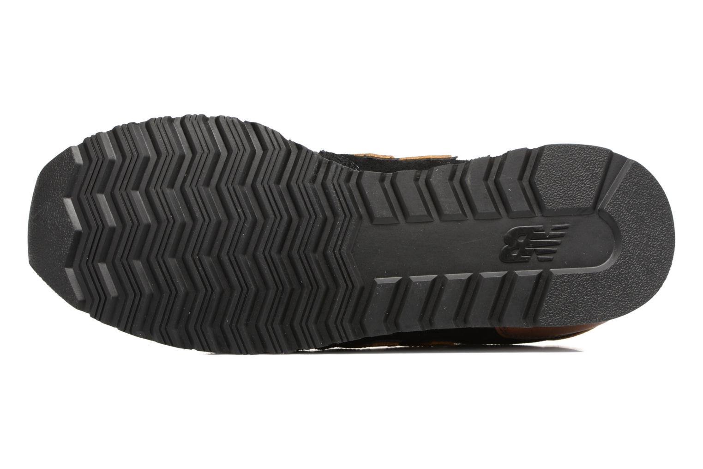 Baskets New Balance WL520 Noir vue haut