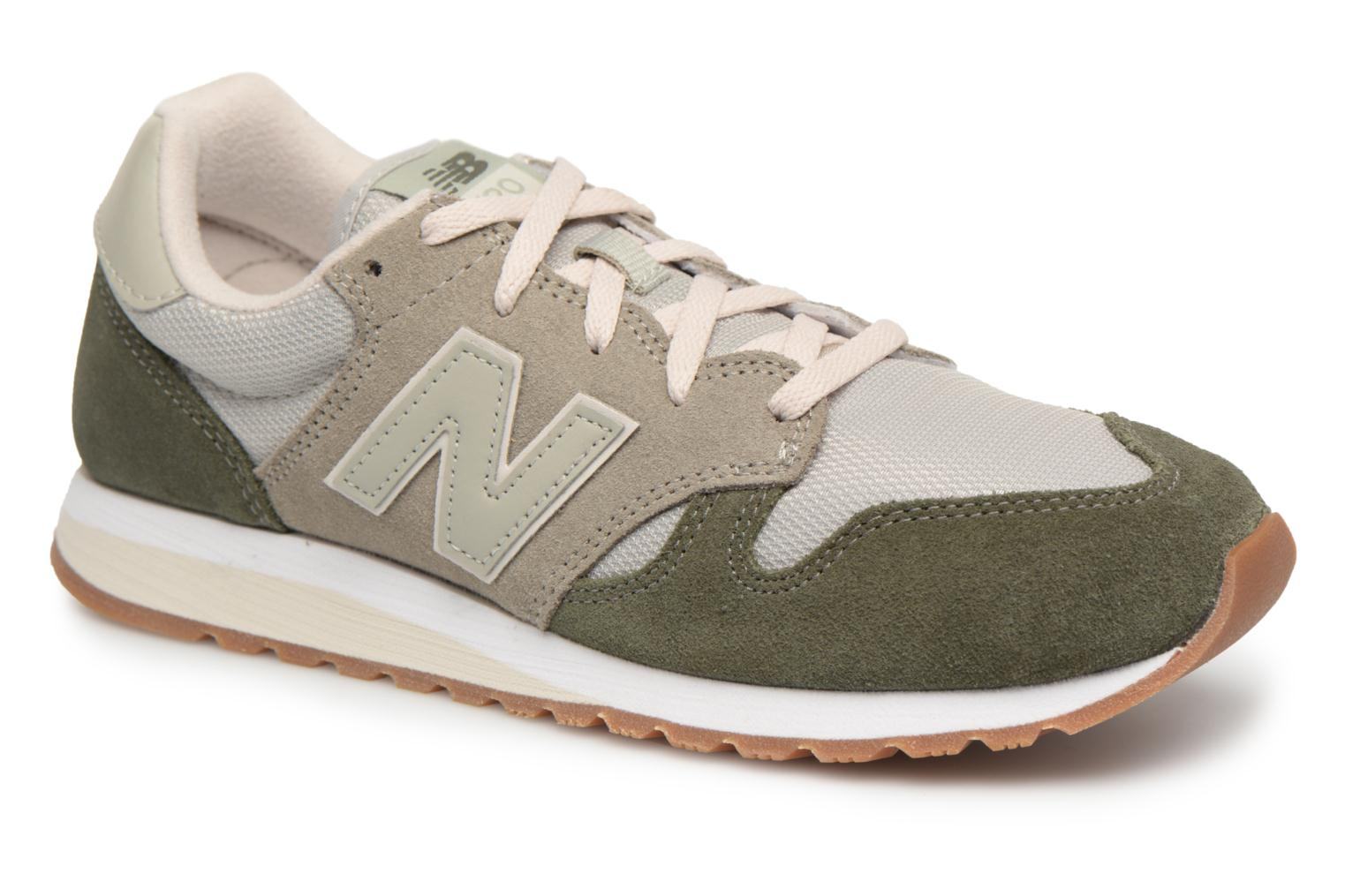 Sneakers New Balance WL520 Groen detail