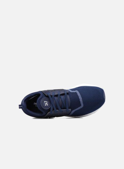 Baskets New Balance WRL247 Bleu vue gauche